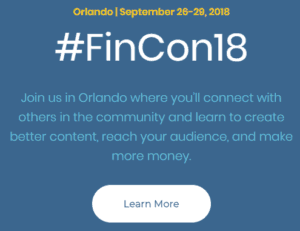 Personal Finance Addict FinCon 2018